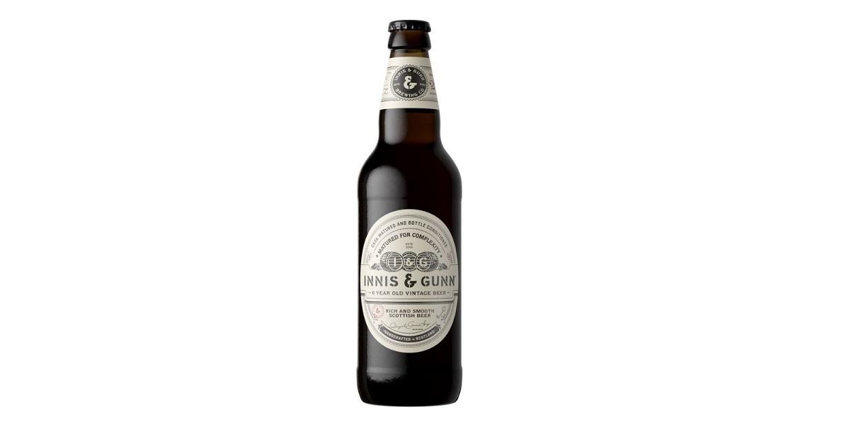 Innis & Gunn, Шотландия, пиво Vintage, Innis & Gunn Vintage, шесть лет выдержки