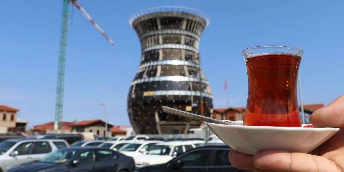 29-метровая чашка чая, Турция, туризм, турецкий ча