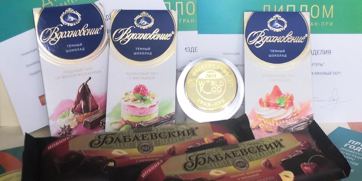 «WorldFood Moscow», «Продукт года», шоколад «Вдохновение» и«Бабаевский»