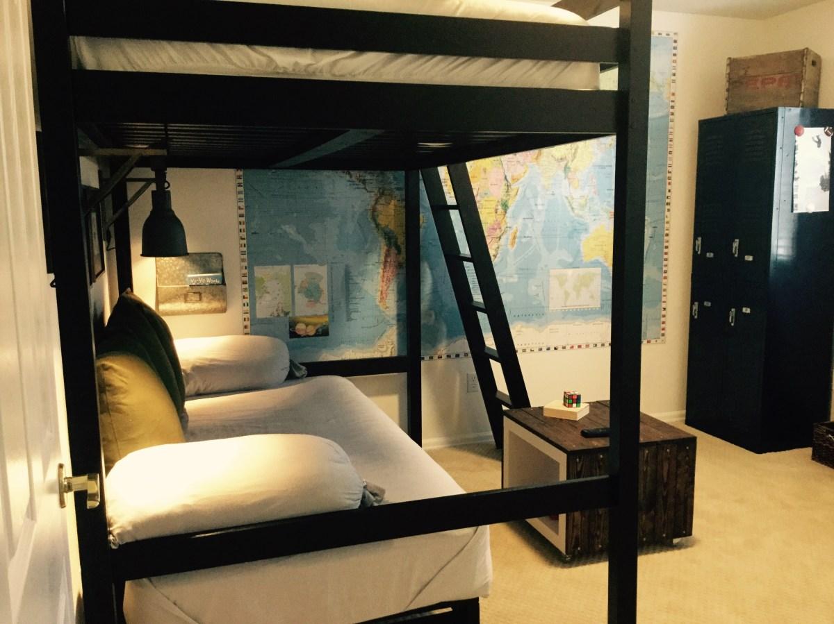 IKEA & Target Hacks for a Teen Boys Bedroom | CBC designs on Teenage Bedroom Ideas Boy Small Room  id=49722