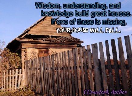 wisdom, understanding, knowledge