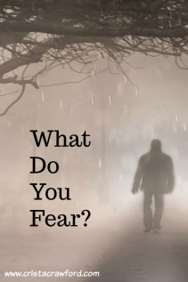 Is the world today causing you to be afraid?  Do you know what the anecdote to fear is?