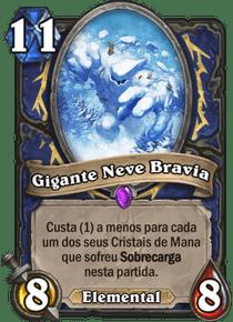 Gigante Neve Bravia