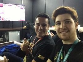 Marcelo Kingvenom Alquati e Diego Dias