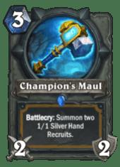 champion's maul