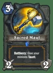 sacred maul