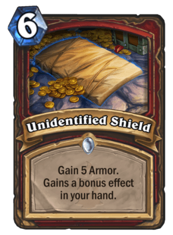unidentified shield
