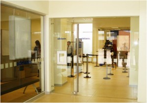 Puerta corredera vidrio