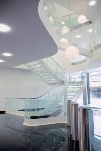 Escalera monumental, diseño