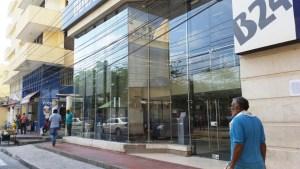fachada bancaria