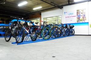 Cerramiento, delimitación, bicicleteros, parqueadero para bicicletas, parqueaderos bicis, delimitación parqueadero, bicicletas.