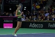 Victorie Pliskova @ FED Cup 2016