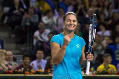 Monica Niculescu @ FED Cup