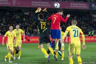 Alvaro Morata in Romania - Spain