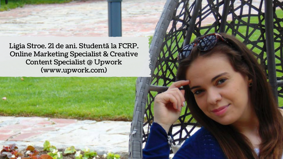 Despre Ligia Elena Stroe, Online Marketing Specialist & Creative Content Specialist #freelancerinspiration