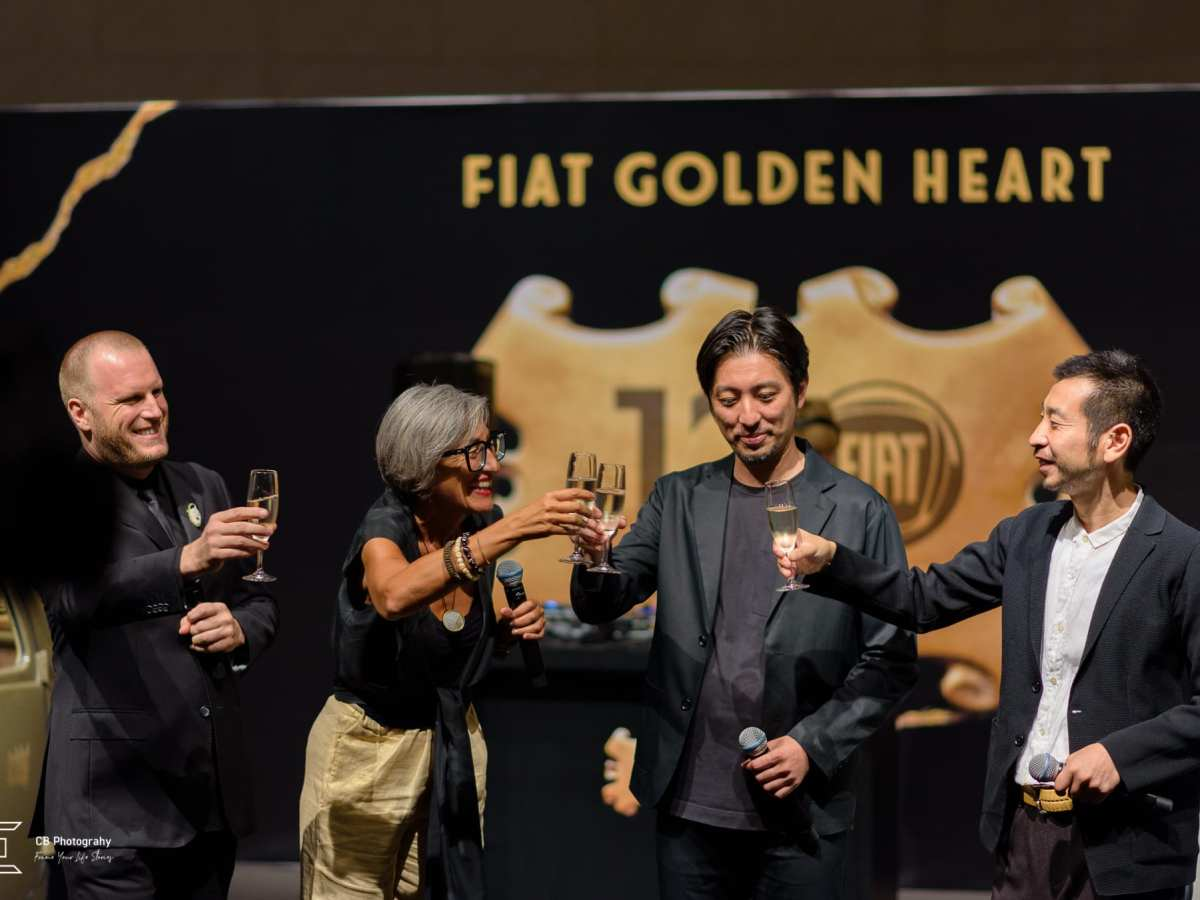 Corporate event Fiat Golden Heart by Cristian Bucur photographer in Tokyo