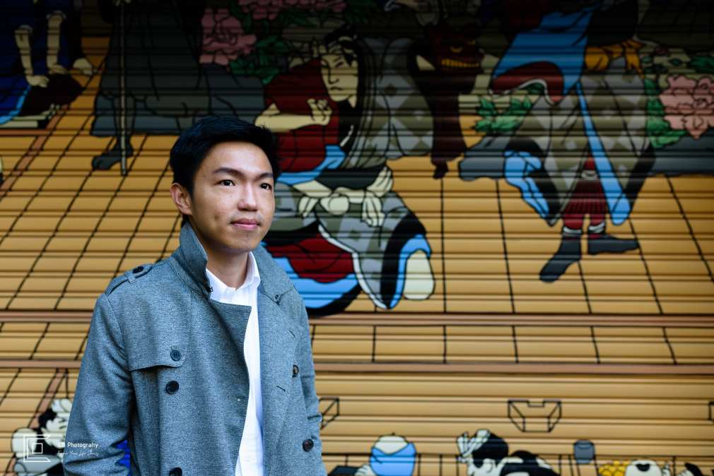 Portrait in Asakusa by Cristian Bucur vacation photographer in Tokyo
