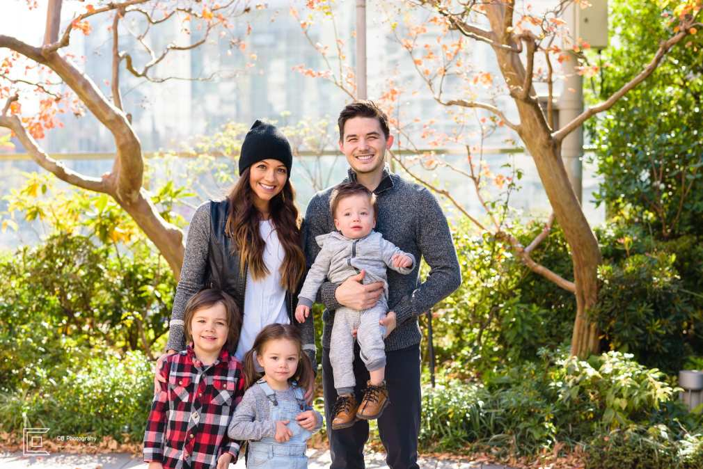 Family portrait in Roppongi Hills by the family photographer Cristian Bucur