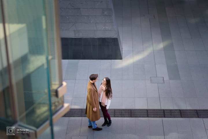 Couple photography session in Roppongi Hills, Tokyo by Cristian Bucur