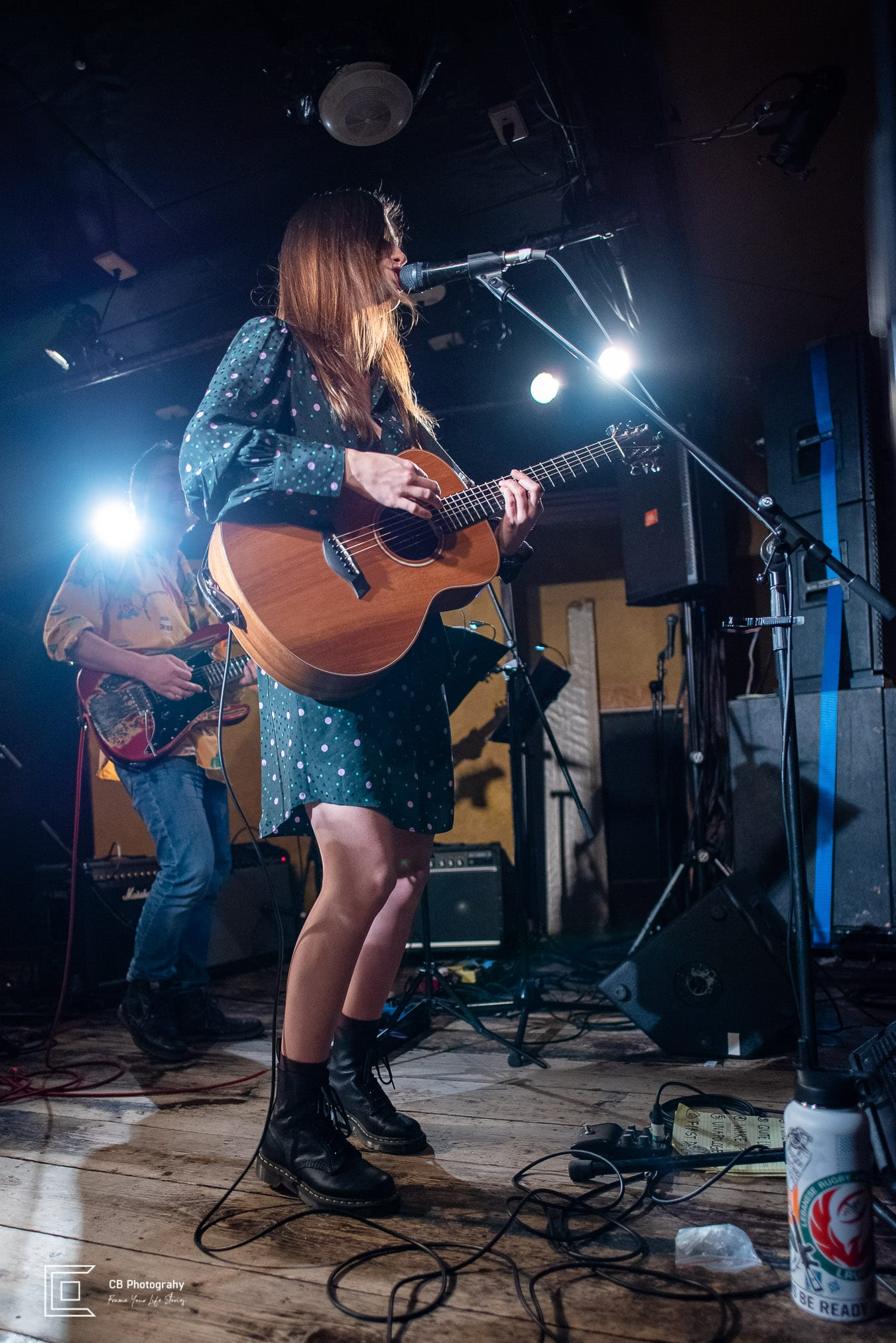 Catherine Forte during her music debut show in Tokyo