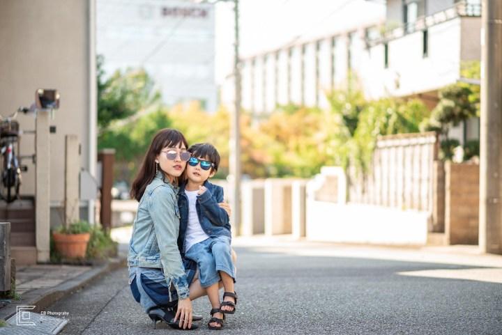 Tokyo Family Photographer, Great Mother&Son portrait session