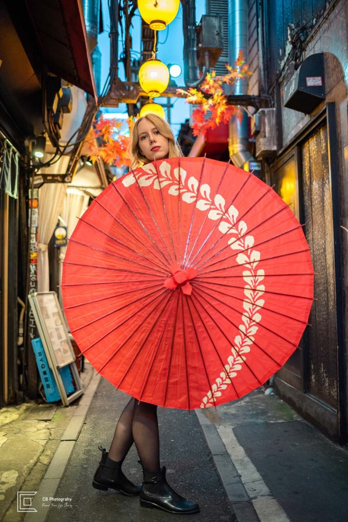 Portrait session in Omoide Yokocho