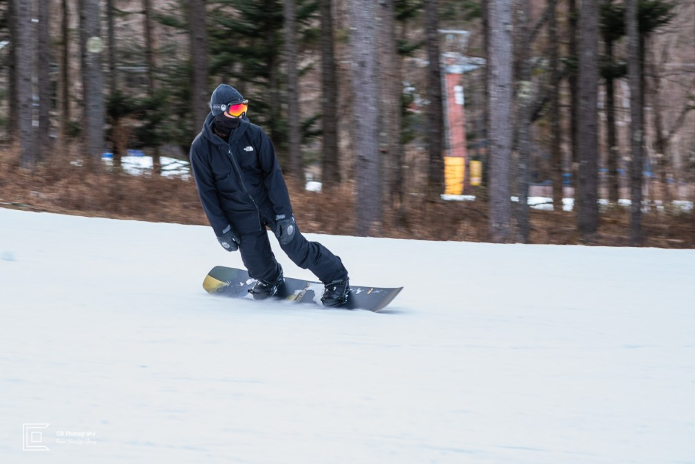 Ski and snowboard photography session