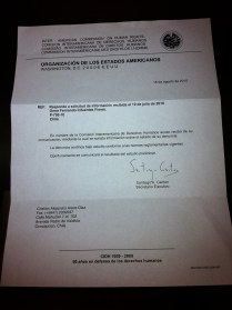 Estado de Chile denunciado por violación a los derechos humanos