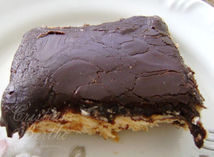 receita de sobremesa gelada tipo pavê torta alemã