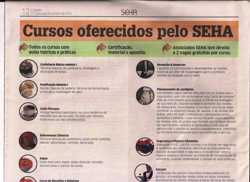 jornal SEHA Curitiba PR