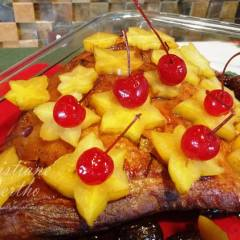 Lombo com pêssego