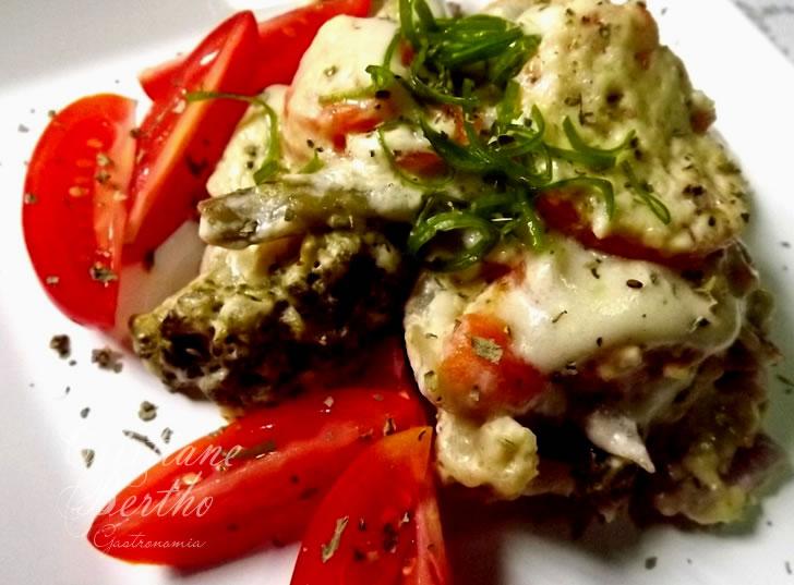 Receita de Panaché de Legumes preparados ao forno