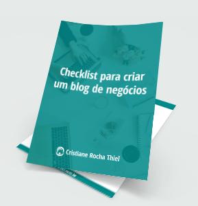 Checklist Blog de Negócios