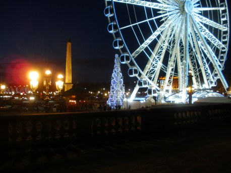 Roda Gigante na Praça da Concórdia, Place de la Concorde.