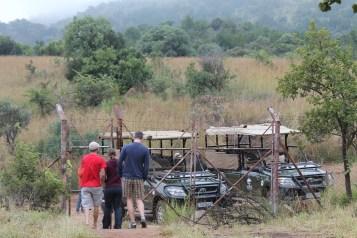 Pausa durante o Safári em Pilanersberg - África do Sul
