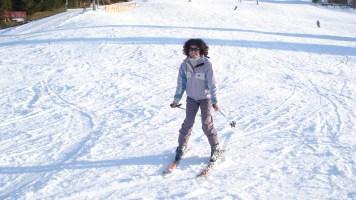 Estação de esqui na Alemanha, Allgau.