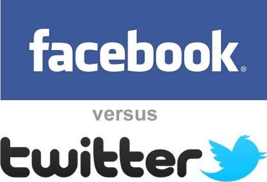 FB vs. Twitter