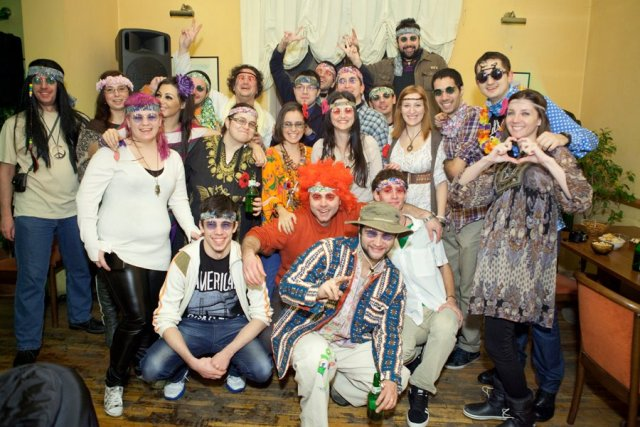 hippie people @ zonga party