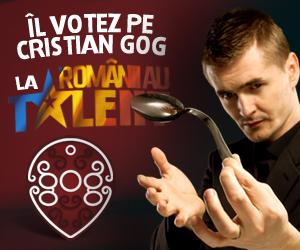 Cristian Gog la Romanii au Talent