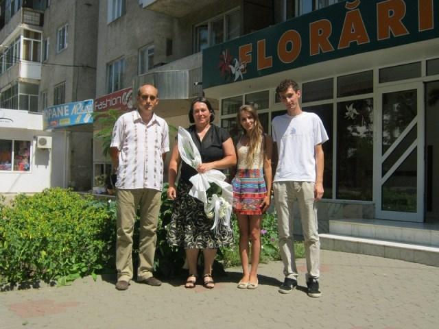 blogosfera vrancea si doamna Ionelia Moldoveanu
