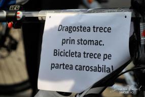 dragostea trece prin stomac bicicleta trece pe partea carosabila