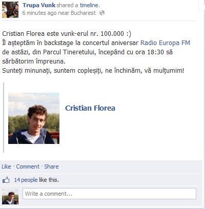 cristian florea - vunk