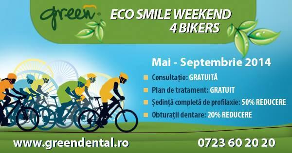 green dental reducere daca vii cu bicicleta