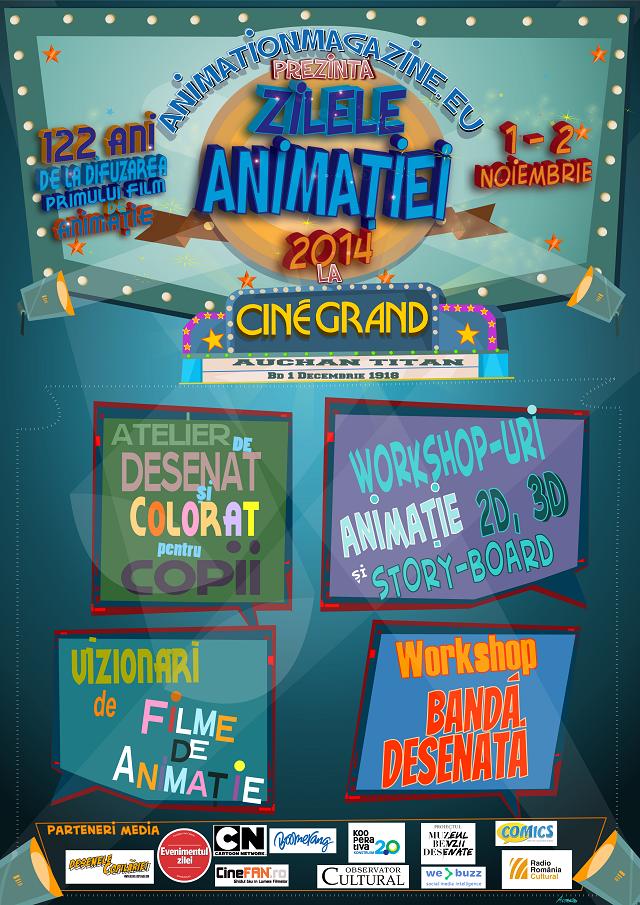 poster zilele animatiei