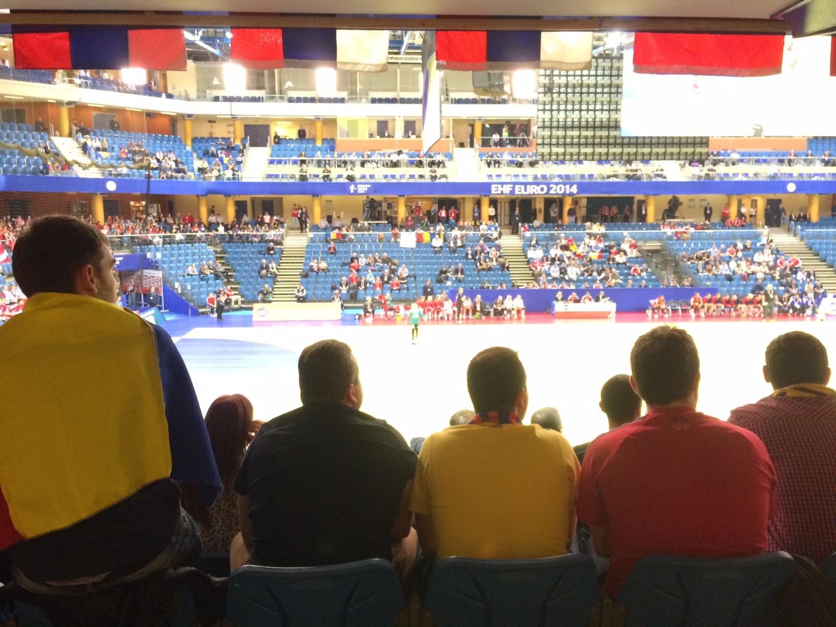Romania - Danemarca la Campionatul European de Handbal feminin (4)