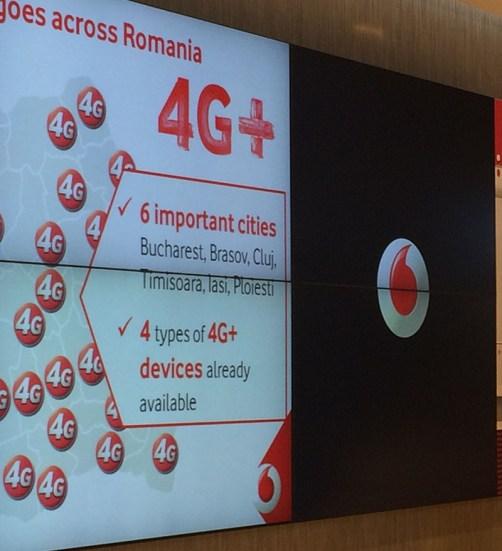 in ce orase este internet 4G+ de la vodafone