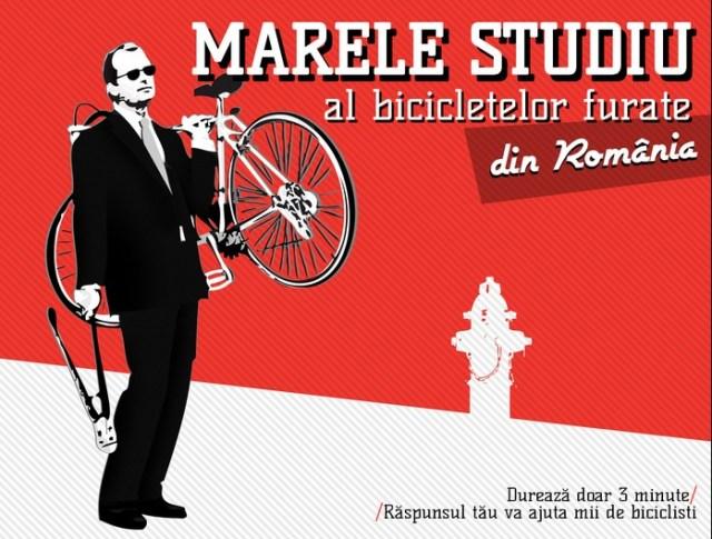 marele studiu al bicicletelor furate din romania