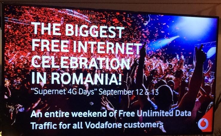 un an de la Vodafone Supernet 3