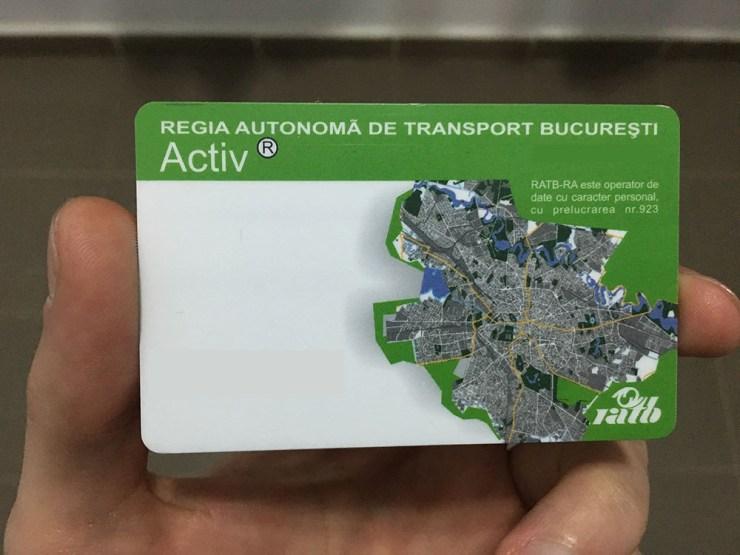 Card RATB