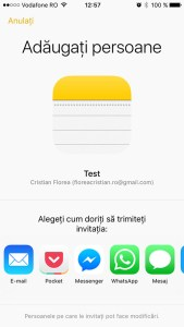 aplicatia de notite in ios 10 - 1